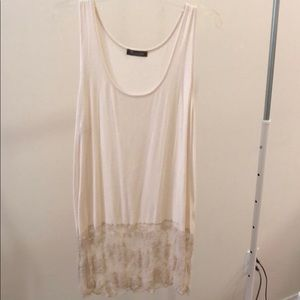 Dresses & Skirts - **Tank Top Slip Dress With Lace Bottom Detail**